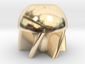 Wadcutter First-Strike .68 Caliber Paintball in 14k Gold Plated Brass