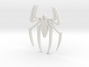Spider-Man Pendant in White Premium Strong & Flexible
