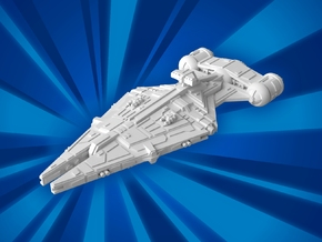 (MMch) Arquitens Light Cruiser in White Natural Versatile Plastic