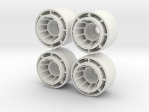 JANTE IDF F1-REAR+1 in White Natural Versatile Plastic