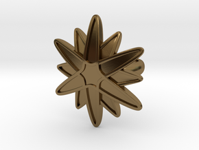 Starburst Statement Ring in Polished Bronze: 6 / 51.5