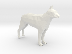 GermanShepherd in White Natural Versatile Plastic