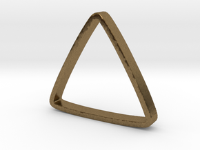 Ring Triangle US 8 in Natural Bronze: 8 / 56.75