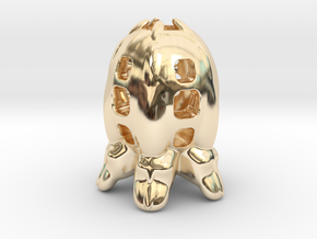 The dreaded Space-Egg! in 14k Gold Plated Brass