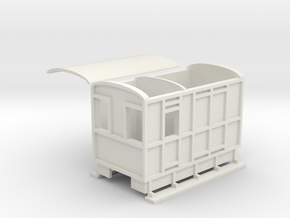 WHHR Brake and luggage van NO.2 ex VOR in White Strong & Flexible