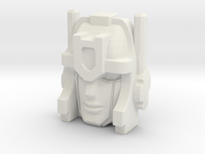Metalhawk/Vector Prime Face in White Natural Versatile Plastic
