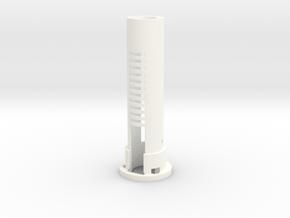 DV6 - Part (1/7) BatteryHolder in White Strong & Flexible Polished