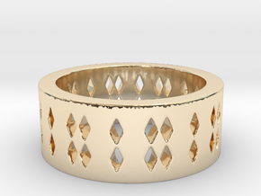 Dots Ring Size 7 in 14K Yellow Gold