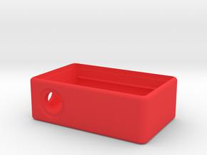 MM Mech Squonk Box (18650) in Red Processed Versatile Plastic