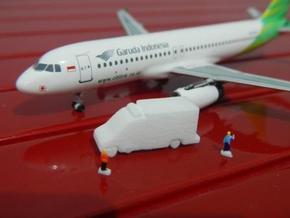 Airport GSE 1:400 Ambulance 2 in White Strong & Flexible Polished