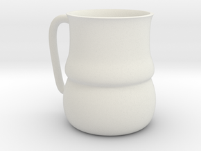 Tankard Style Mug in White Strong & Flexible
