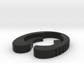 Genoa 22mm - Atty Gripper in Black Natural Versatile Plastic