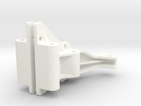 056002-01 Falcon Shock Tower Set in White Processed Versatile Plastic