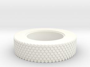 SCOPE WHEEL ( 7 of 8) in White Processed Versatile Plastic