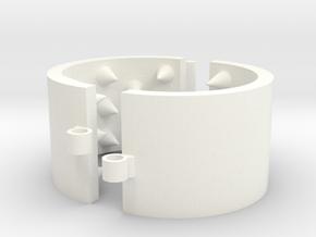 Kalis Grip 44/8/03 - 5 Rows in White Processed Versatile Plastic