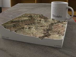 South Rim Grand Canyon, Arizona, 1:50000 Explorer in Full Color Sandstone
