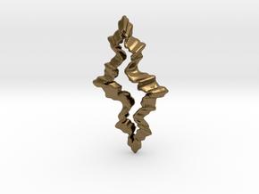 Ruckerbulb Cutout in Natural Bronze