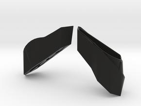 GT86 / BRZ 1:10 Light Bucket in Lamborghini Design in Black Natural Versatile Plastic