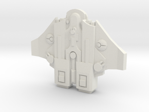 fragata clase warden  in White Natural Versatile Plastic