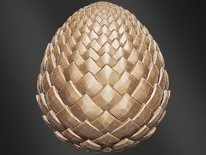 Game Of Thrones - Dragon Egg in White Natural Versatile Plastic