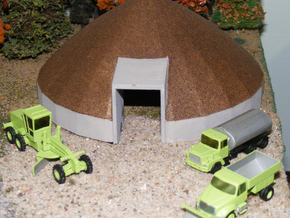 Mack Salt or Sand Truck - Nscale in Smooth Fine Detail Plastic