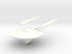 2500 Pioneer Class Starship in White Processed Versatile Plastic
