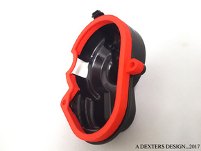 Dust Cover Extender for Traxxas in Red Processed Versatile Plastic