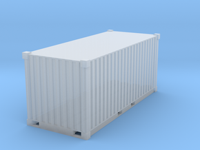 1/87 Container_20ft  in Smooth Fine Detail Plastic