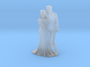 Printle C Couple 120 - 1/87 - wob in Smooth Fine Detail Plastic