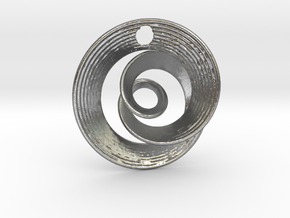 Mobius IX in Natural Silver