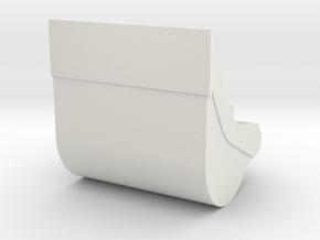 dieplepel 1400mm 20-28ton in White Natural Versatile Plastic