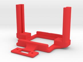 Mamba Monster X Mount ultra slim in Red Processed Versatile Plastic