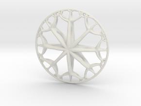 IF Wheel in White Natural Versatile Plastic