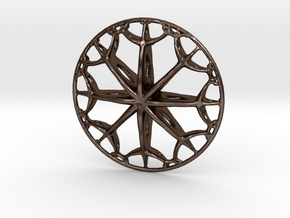 IF Wheel in Polished Bronze Steel