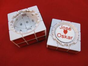 Personalize your Treasure Chest in White Processed Versatile Plastic