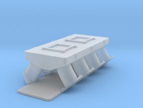 AJPE Hemi 1/24 2x4bbl intake in Smooth Fine Detail Plastic