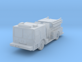 1:160 N Scale A/S32P-22 Fire Truck in Smooth Fine Detail Plastic