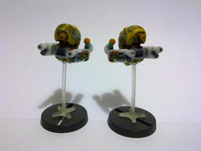Gun Bots in Full Color Sandstone