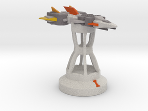 Endless Sky Chess: Frigate/Rook (Prototype) in Full Color Sandstone