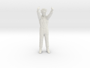 1/20 Formula Racer Winner in White Natural Versatile Plastic