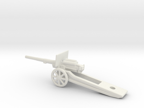 15cm L40 Feldkanone German 1/72 ww1 &ww2 Artillery in White Natural Versatile Plastic