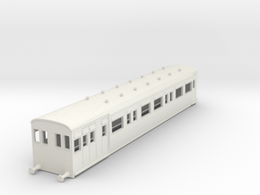 o-76-secr-railmotor-brake-push-pull coach-2 in White Natural Versatile Plastic