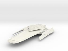 Federation Pike Class  StrikeCruiser in White Natural Versatile Plastic