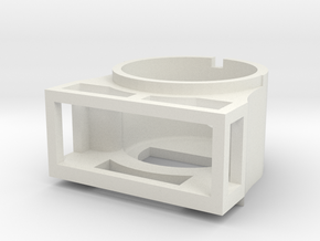 Gauge 3 Neilson Smokebox in White Natural Versatile Plastic