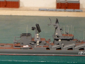 1/1250 Soviet Slava Missile Cruiser in Smooth Fine Detail Plastic