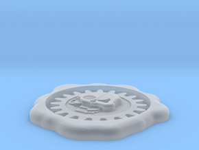 seal of the machine god in Smooth Fine Detail Plastic