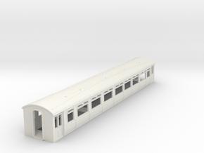 o-76-lnwr-siemens-trailer-coach-1 in White Strong & Flexible