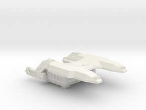 3788 Scale Lyran Cougar Carrier Tug CVN in White Natural Versatile Plastic