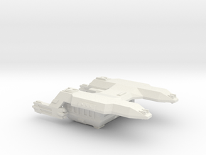 3125 Scale LDR Fleet Carrier Tug CVN in White Strong & Flexible