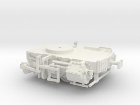 Bogie Locomotive Pechot 1/43e in White Natural Versatile Plastic